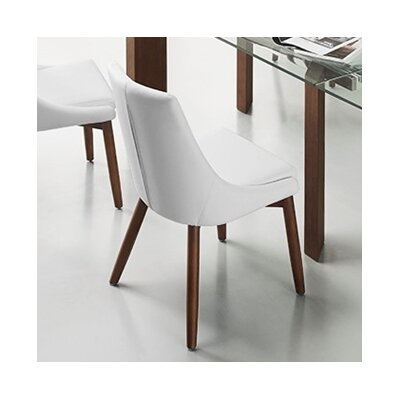 Creek Side Chair in Eco-Leather - White