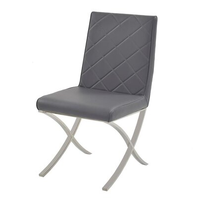 Loft Side Chair Upholstery: Gray