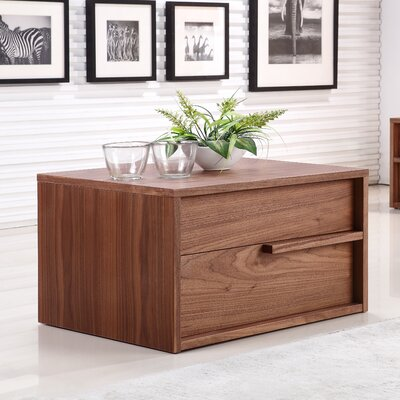 Dolce End Table Color: Walnut