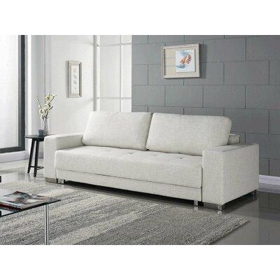 Cloe Sleeper Sofa Upholstery: Beige