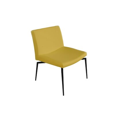 Lenox Side Chair (Set of 2) Color: Dijon Yellow