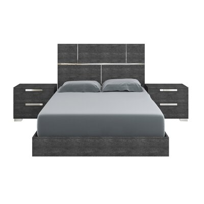 Milo Panel Bed Size: Queen