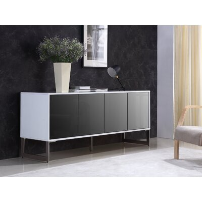 Cuadro Buffet Table Color: White