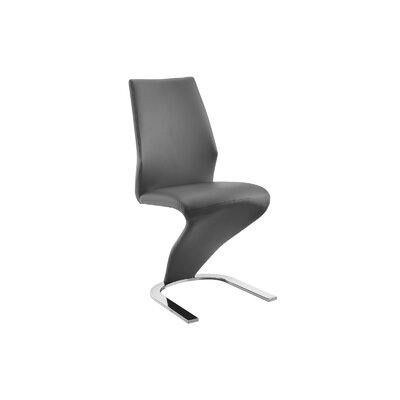 Boulevard Side Chair (Set of 2) Upholstery: Gray