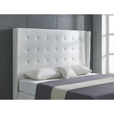 Cozy King Wingback Headboard