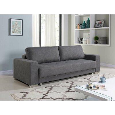 Cloe Sleeper Sofa Upholstery: Gray