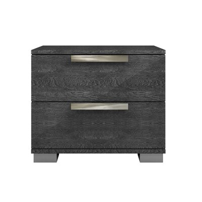 Hampton 2 Drawer Nightstand