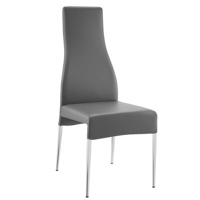 Blagg Side Chair Color: Grey
