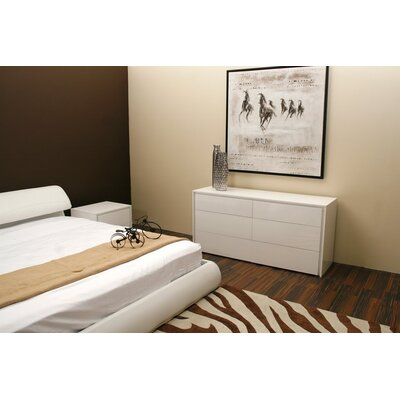 Low Price Casabianca Furniture Zen Bedroom Collection Zen 2 Drawer  Nightstand