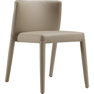 Spago Dining Chair Upholstery: Taupe Gray