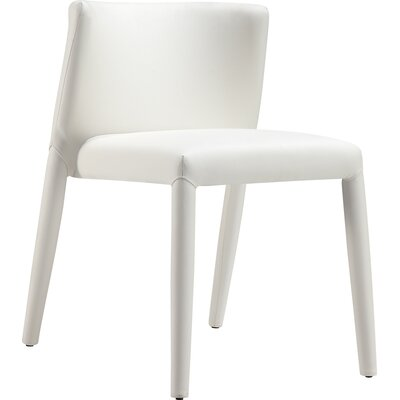 Spago Dining Chair Upholstery: White
