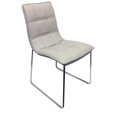 Leandro Dining Chair Upholstery: Gray