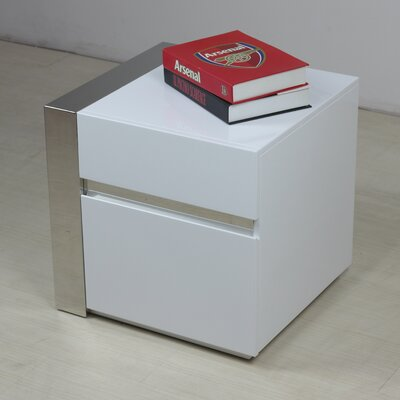 Cristallino Right End Table
