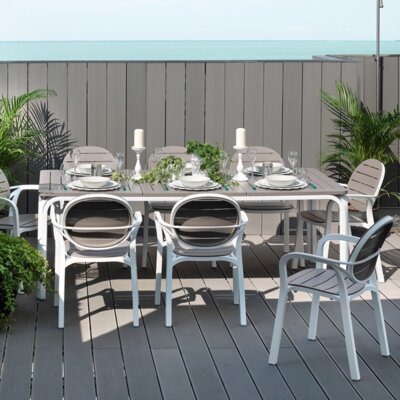 Alloro 9 Piece Dining Set