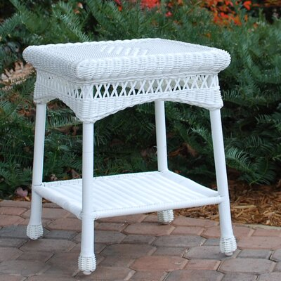 Portside Side Table Finish: White