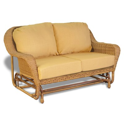 Furniture Outdoor Furniture Glider Cast Aluminum Loveseat Glider