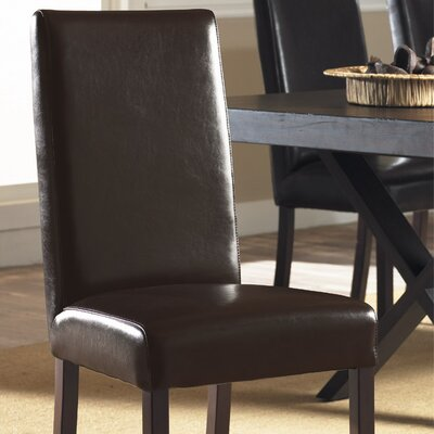 Monaco Genuine Leather Upholstered Dining Chair