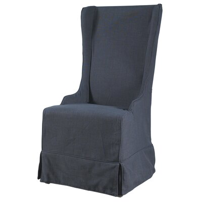 Atlantic Beach Arm Chair Upholstery: Charcoal Linen