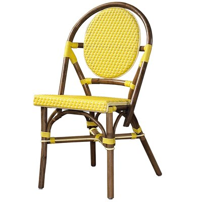 Cottage Paris Bistro Side Chair Color: Yellow