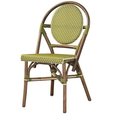 Cottage Paris Bistro Side Chair Color: Green