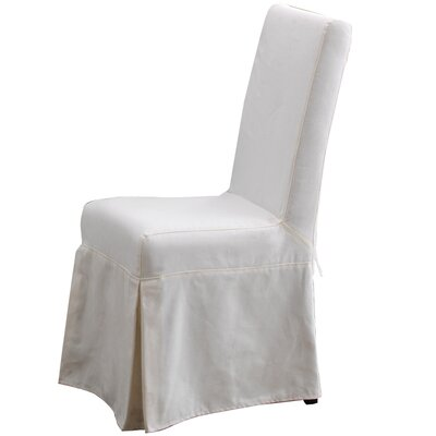 Pacific Beach Parsons Chair Finish: Sun Bleached White