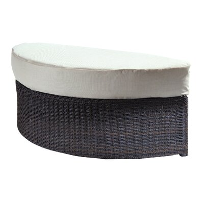 Outdoor Haven Ottoman with Cushion