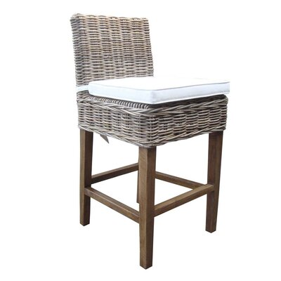 Boca 30 Bar Stool with Cushion