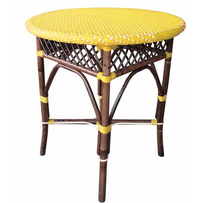 Paris Bistro Bar Table Top Finish: Yellow