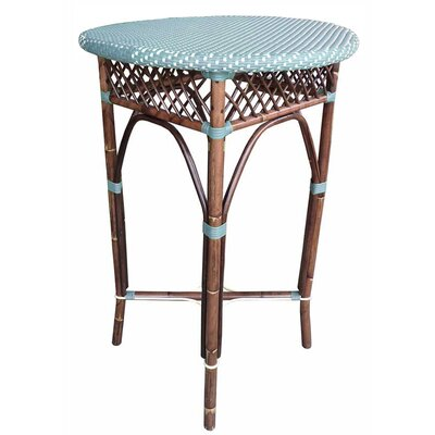 Paris Bistro Bar Table Top Finish: Blue