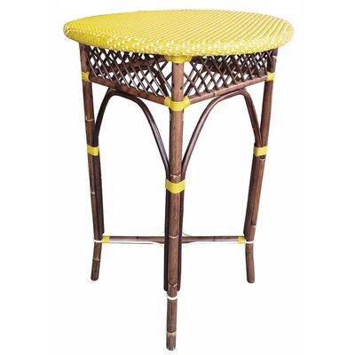 Paris Bistro Bar Table Top Finish: Yellow