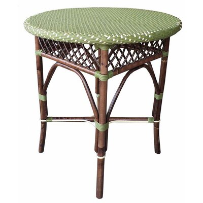 Paris Bistro Bar Table Top Finish: Green