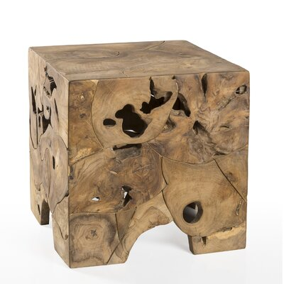 Greensboro Teak Root End Table