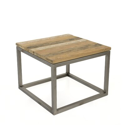 Blackman Recycled Teak End Table