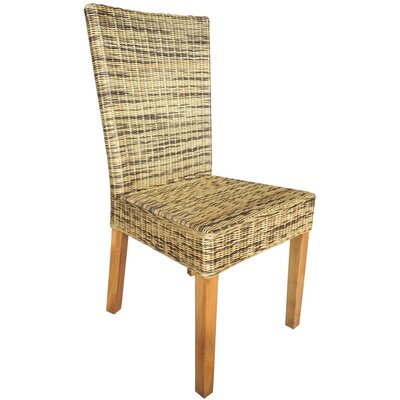 Ashland Wicker Upholstered Dining Chair