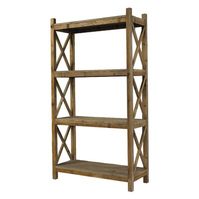 Salvaged Wood Etagere Bookcase 1281 Product Photo