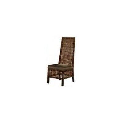 Emperor Side Chair Upholstery: Bark