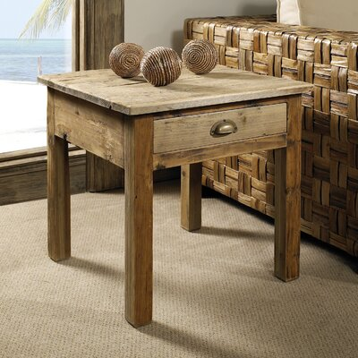 Salvaged End Table