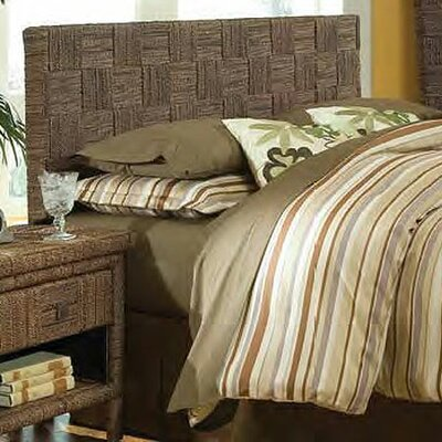Plaid Panel Headboard Size: Twin