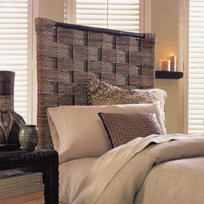 Abaca Panel Headboard Size: Queen