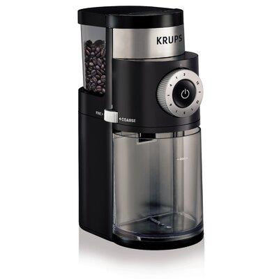 Krups Professional Burr Black Coffee Grinder GX500050