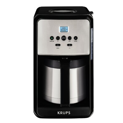 Krups Savoy Programmable Thermal Filter Coffee Machine ET351050