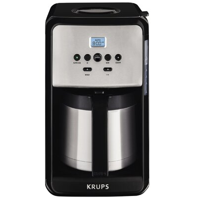 Krups ET351 Savoy 12-Cup Thermal Coffee Maker ET351050