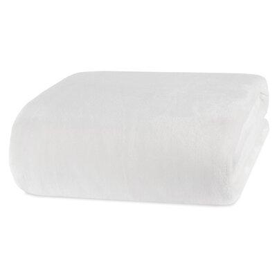 VelvetLoft Blanket Size: Twin, Color: White