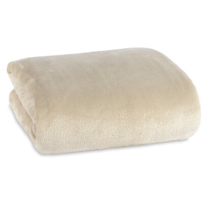 VelvetLoft� Blanket Size: Twin, Color: Grain