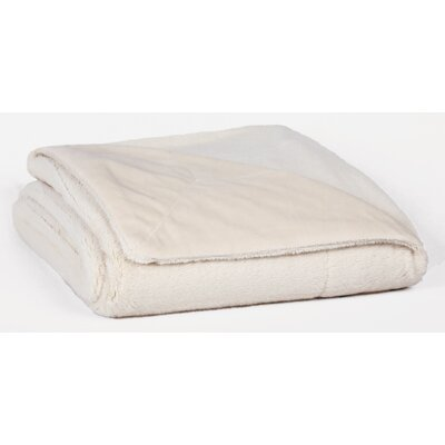Bunnysoft Throw Color: Seed Pearl