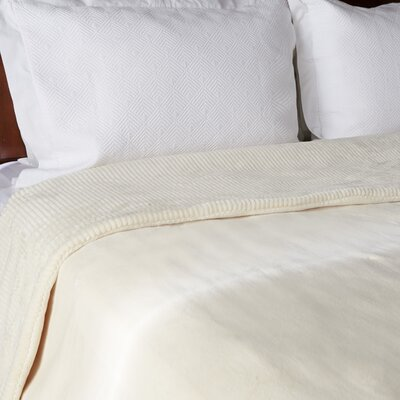 Intellisense� Electric Blanket Size: Queen, Color: Cream