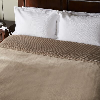 Intellisense Electric Blanket Size: Twin, Color: Doe