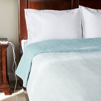 Intellisense Electric Blanket Size: Queen, Color: Spa Blue