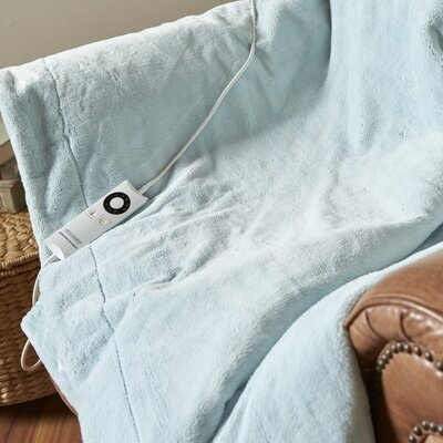 Intellisense� Electric Throw Color: Spa Blue