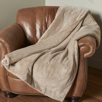 Intellisense Electric Throw Color: Doe